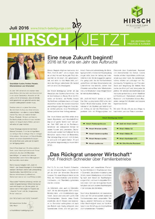 Magazin Juli 2016